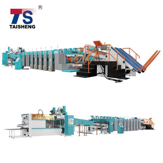 Case maker machine for corrugated carton