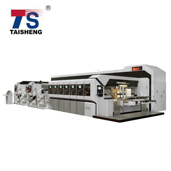 Vacuum transfer corrugated carton machine