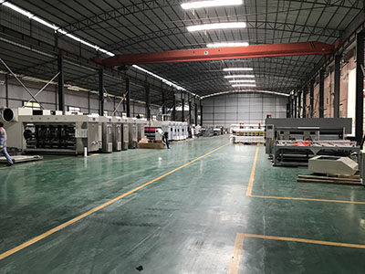 The New Machining Center Settled in Taisheng Company.