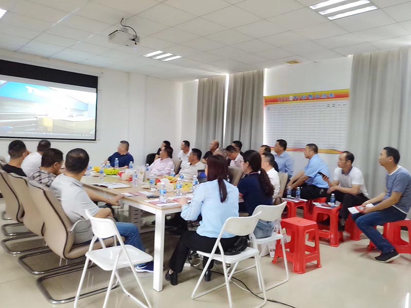 Chamber of Commerce Leaders Visited Taisheng Company